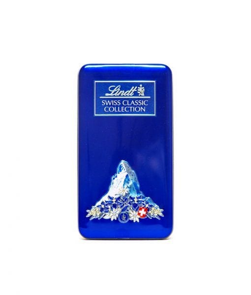 lindt chocolate swiss classic collection box 185g  blue