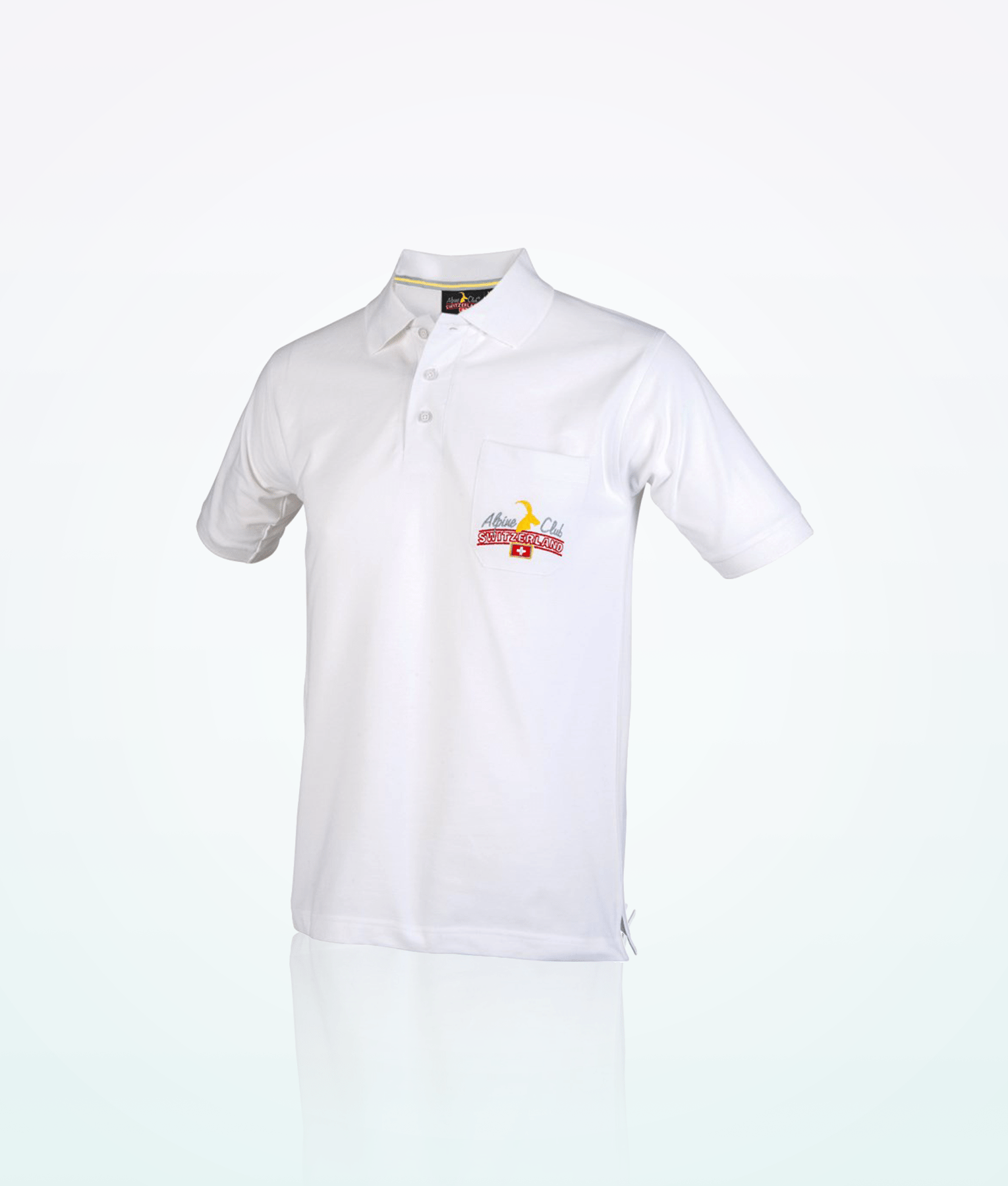 Polo shirt 100 cotton swiss made direct for Polo shirts with pockets 100 cotton