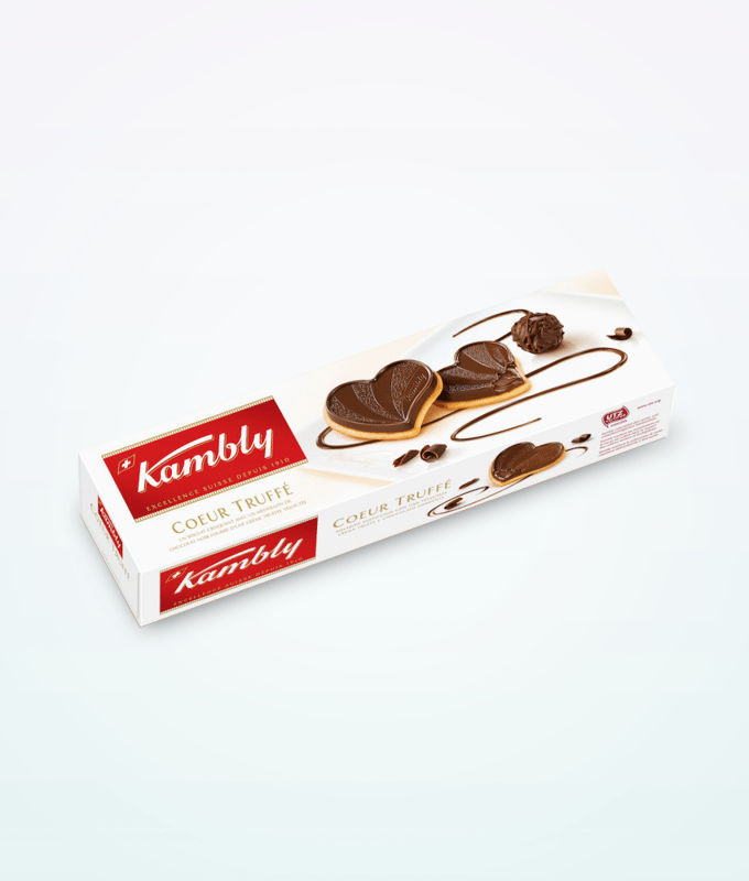 Kambly Chocolate Biscuits 100 G Swissmade Direct