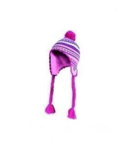 Girls Hat Tibetan with Pompon