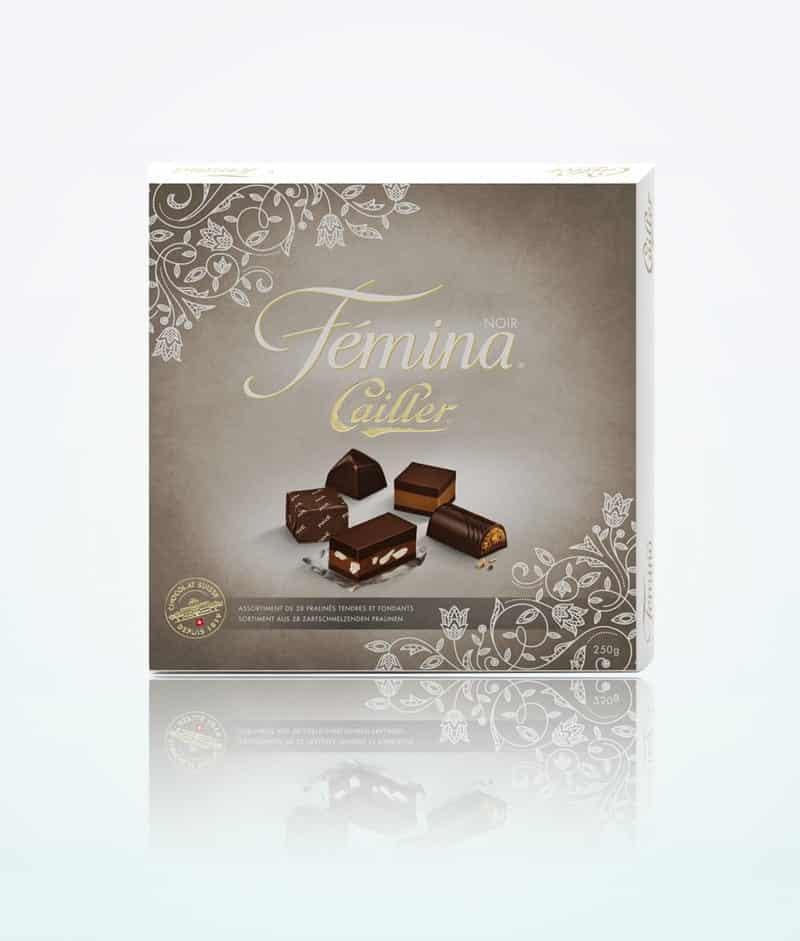 pralines assorties cailler-femina-chocolat-noir