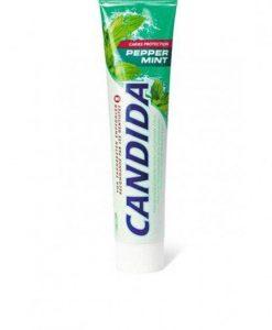 Candida menta pasta de dientes