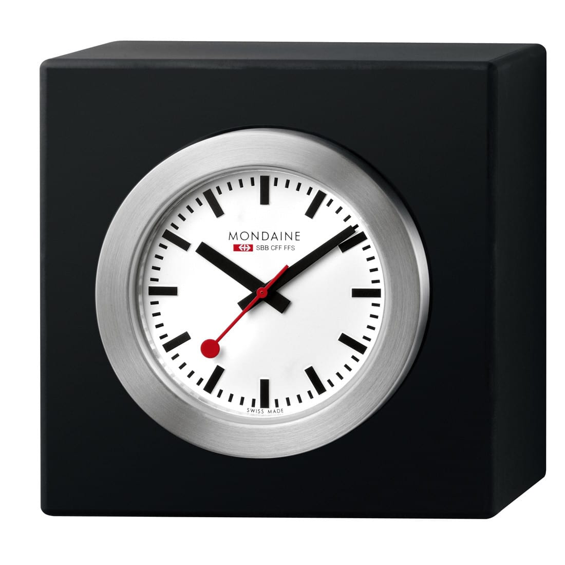 Mondaine desk clock swiss made direct for Watches direct