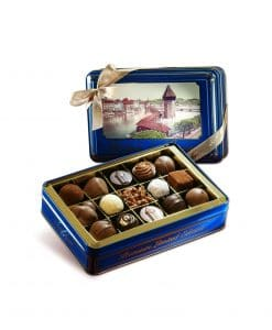 LUCERNE BOX WITH TRUFFLES & PRALINES 180g