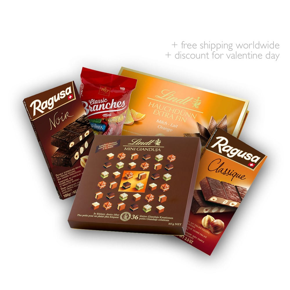 Gift Chocolate box - For those who are loved | Swiss Made Direct