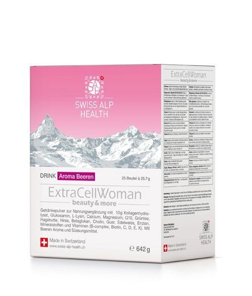 ExtraCellWoman Beauty And More Vitamins 642 g