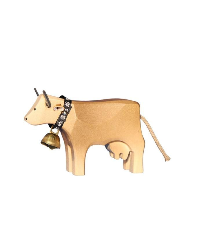 The Wooden Cow Trauffer Toys Swissmade Direct