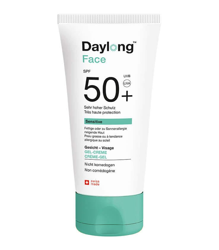 Gel facial sunscreen