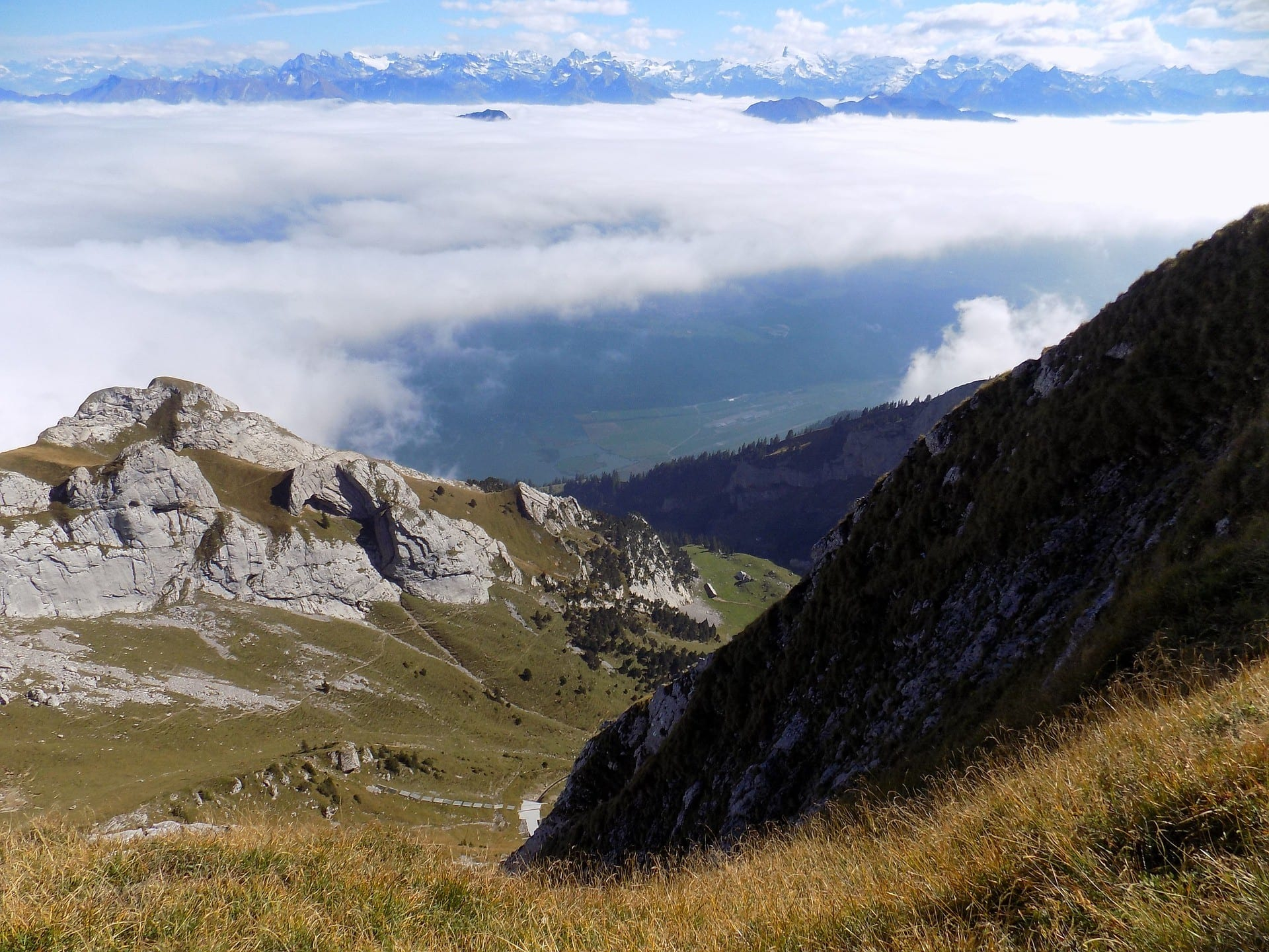 Hiking Mount Pilatus To The Most Popular Picnic Point