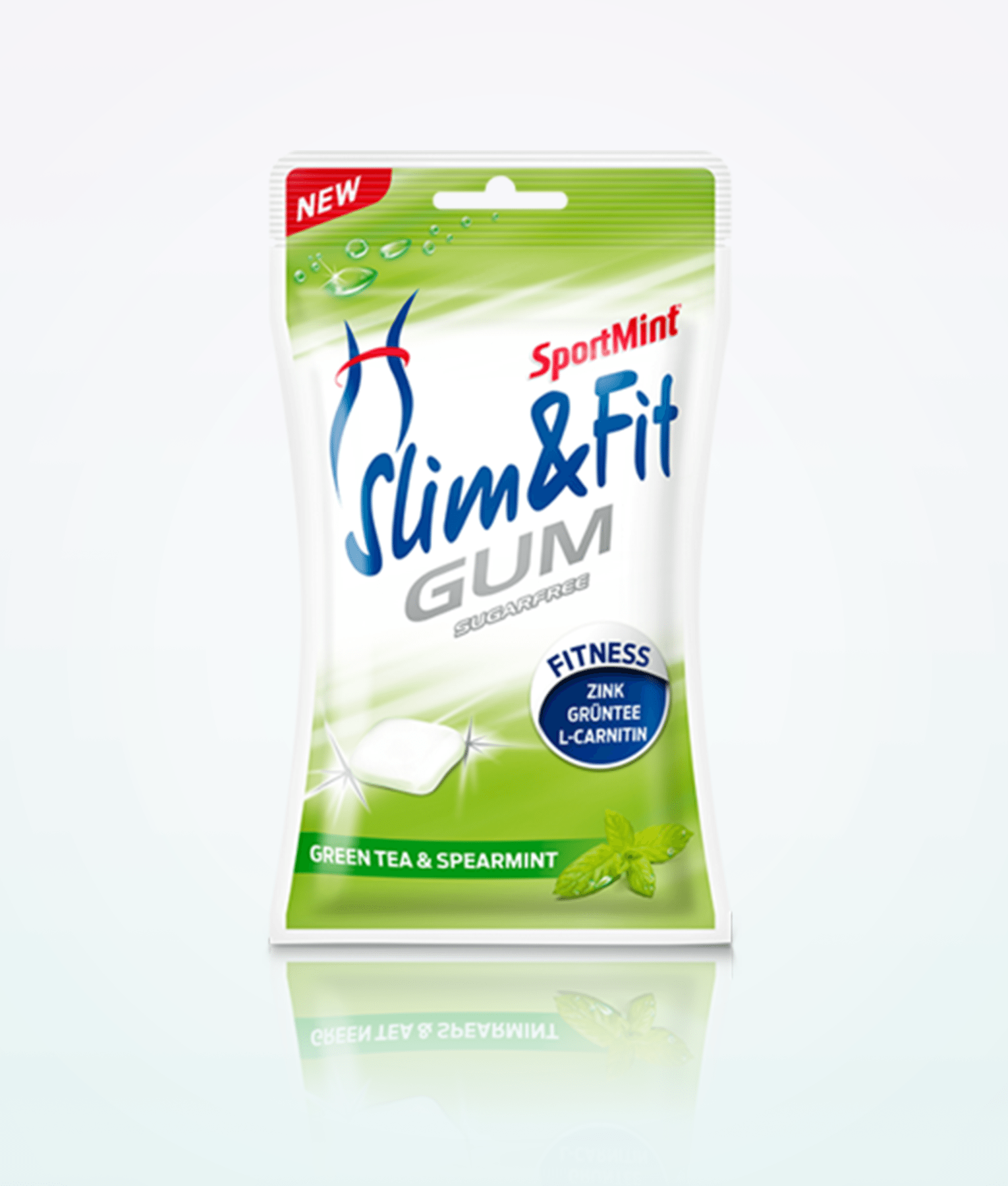 Sport Mint Slim And Fit Gum 70 g
