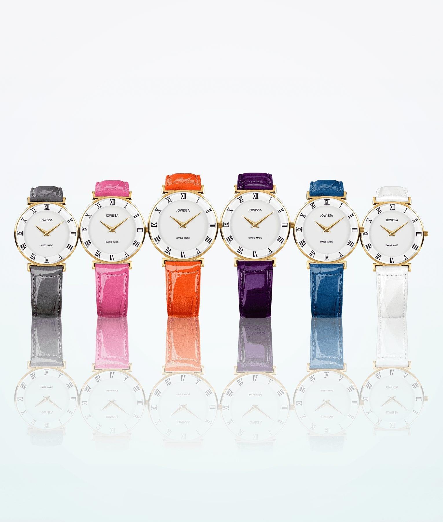 montre-bracelet en or jowissa-roma