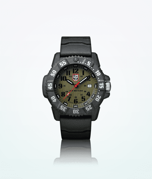 luminox-master-carbon-3800-series-men-wristwatch-black-green