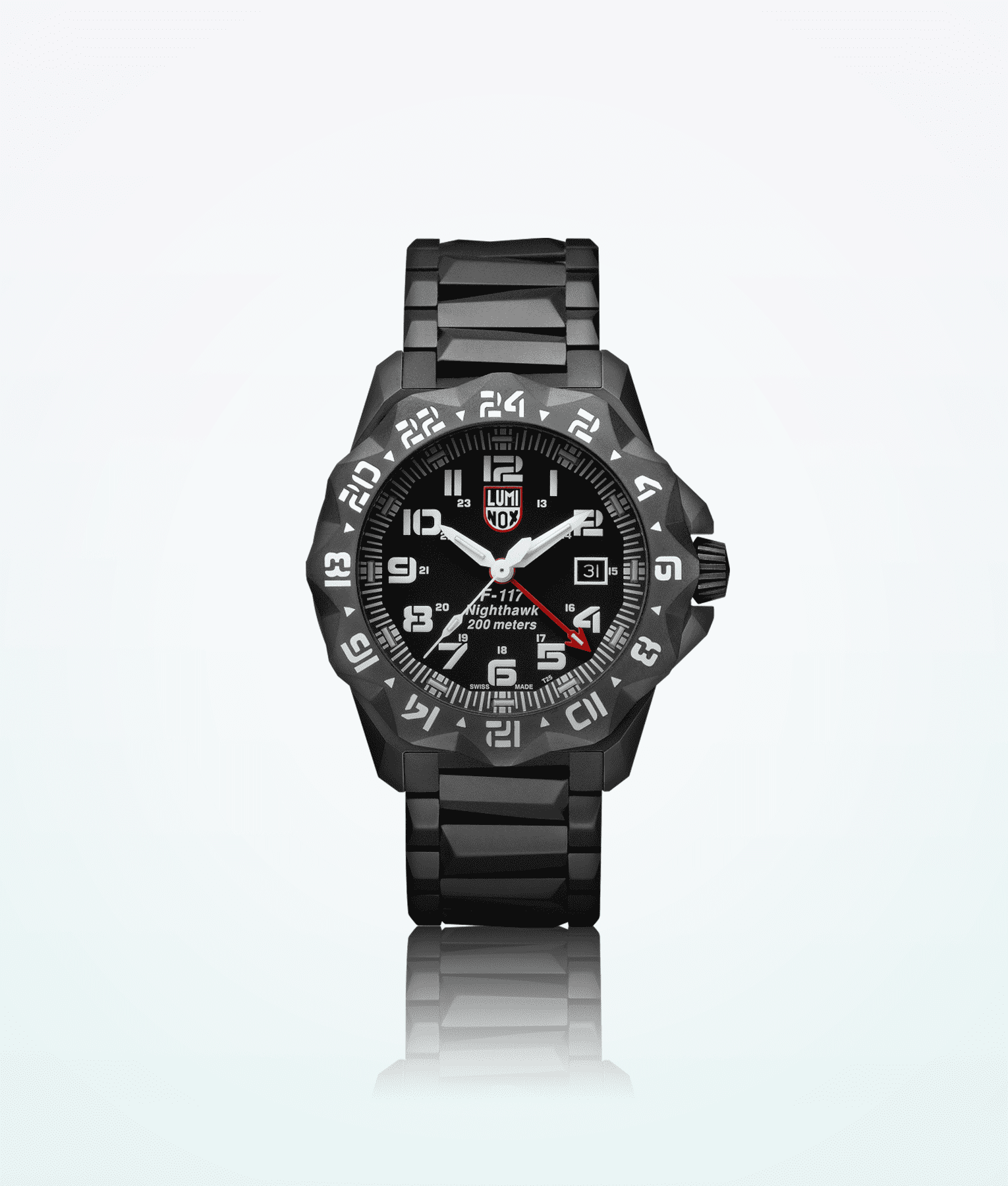 Luminox nighthawk 6400 series swiss made direct for Watches direct