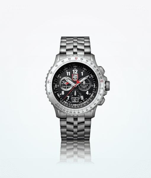 Luminox-Raptor-9240-Serie-Männer-Armbanduhr-grau