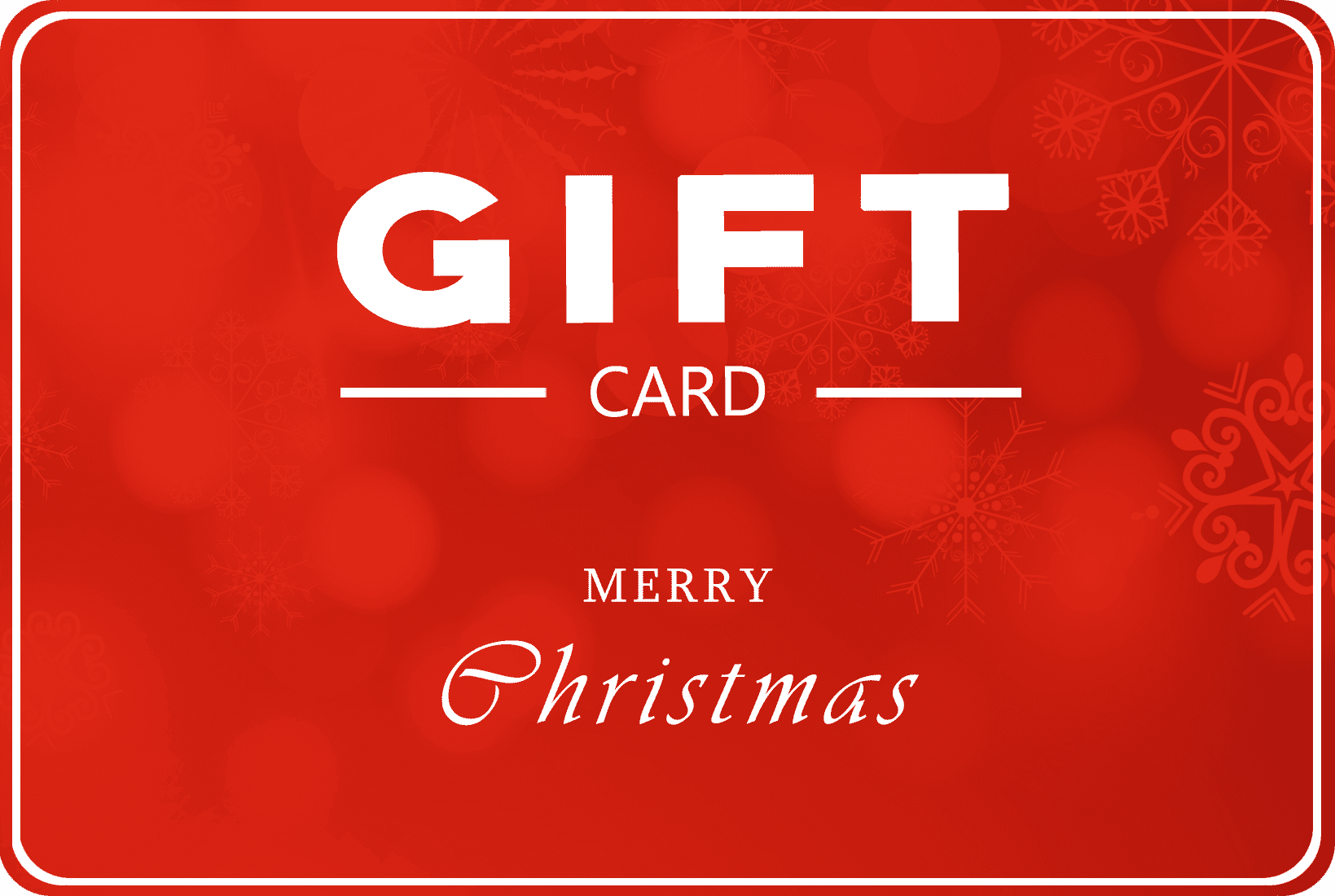 "Swissmade.direct giftcard ""merry christmas"""