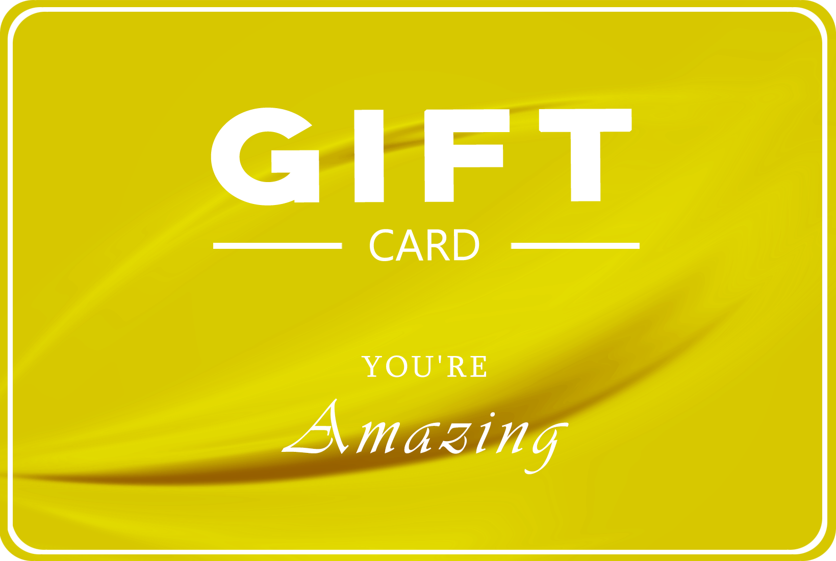 """Swissmade.direct giftcard """"you are amazing"""""""